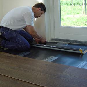 Laminaat laten leggen ondervloer